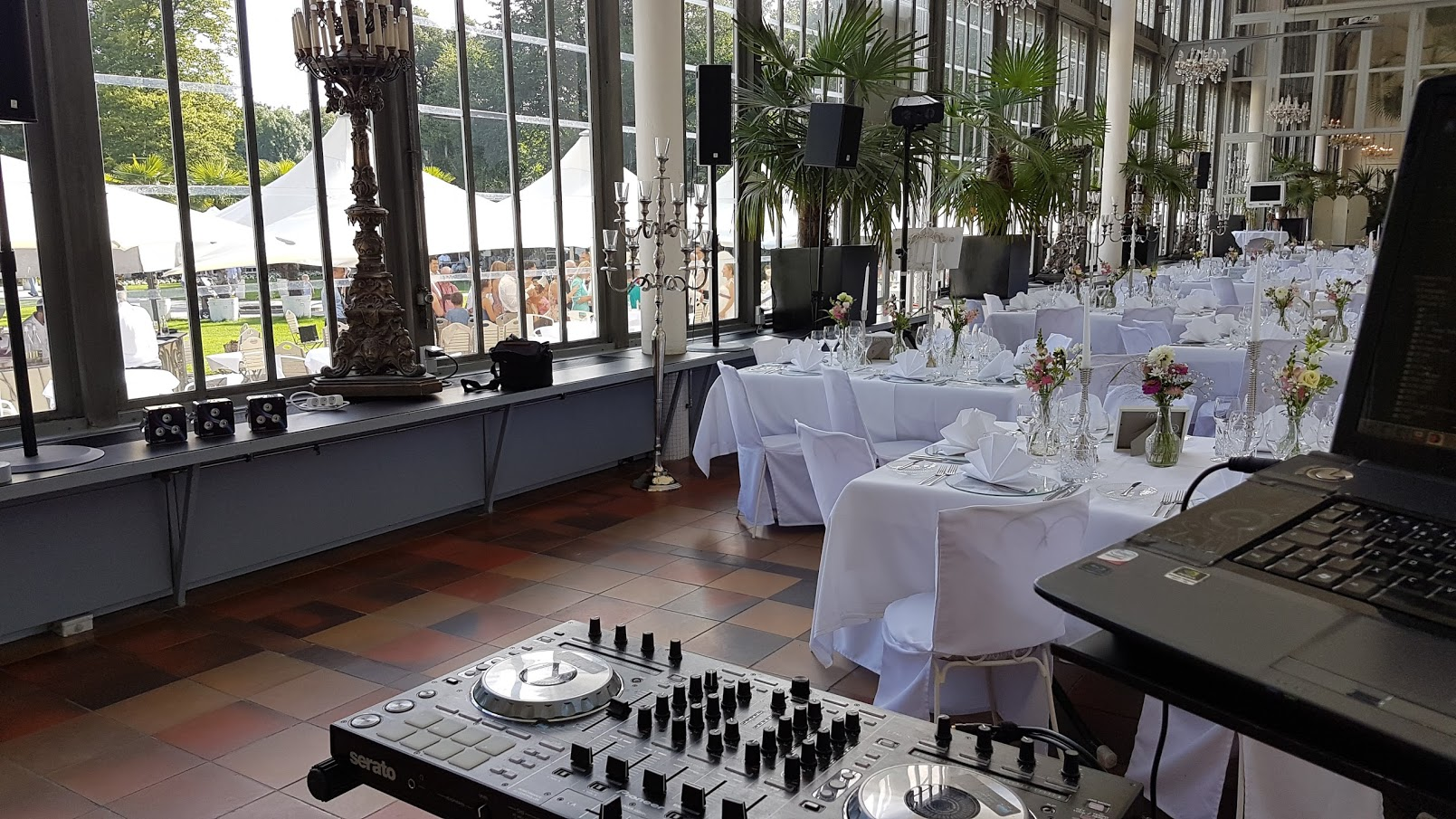 Wedding @ Schlosscafe Palmenhaus Munich