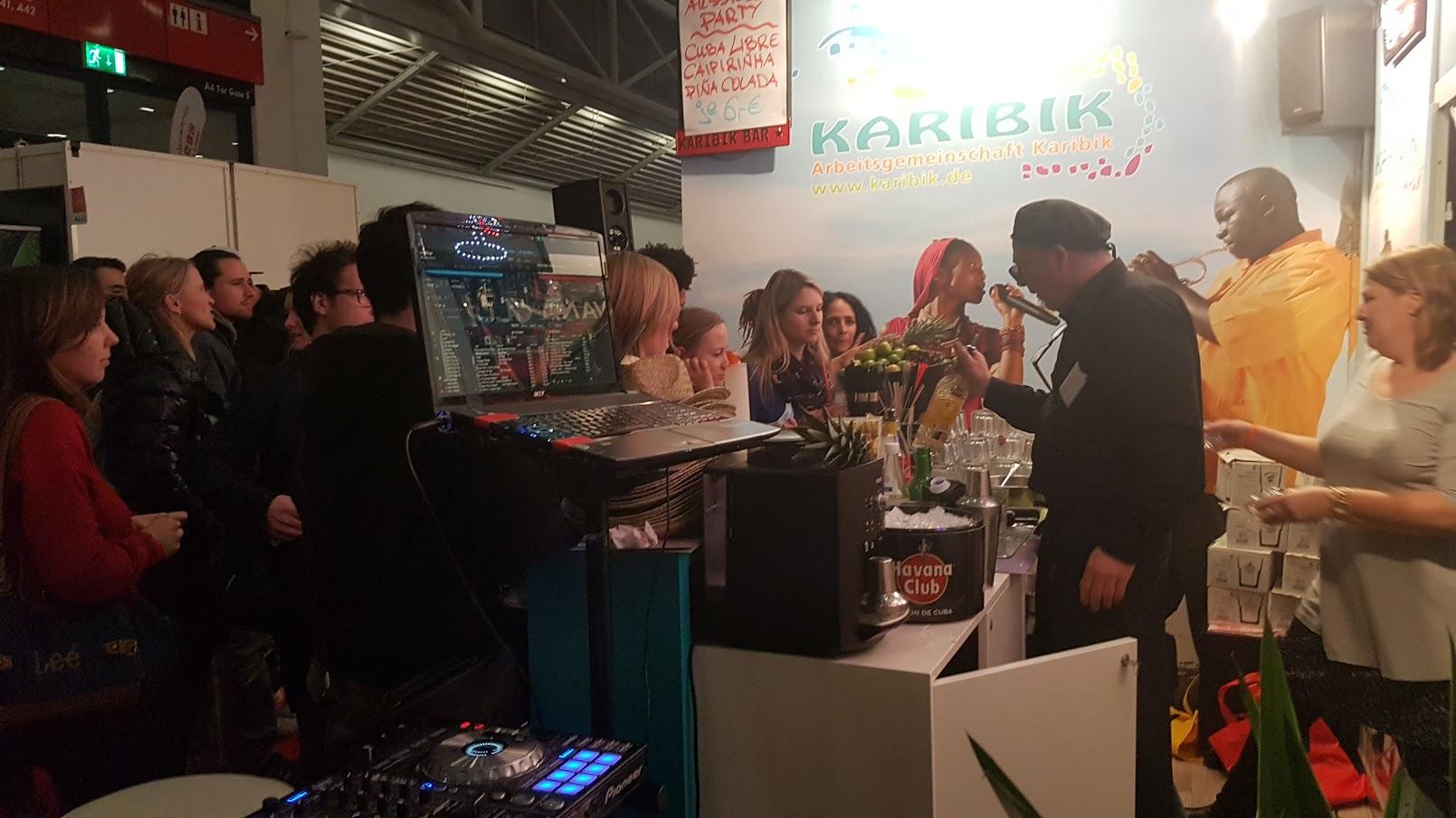 Latino Party DJ auf der Reise Messe - Messe DJ München