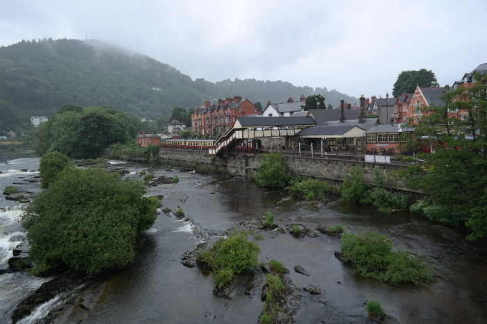 Llangollen (on the way to the Festival in Aberystwyth)