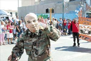 RESISSSTE CD JUÁREZ EN ACCIÓN EL 1 DE MAYO DEL 2011.