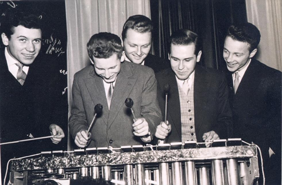 Das Michael Naura Quintett im Hamburger Barett 1956 Fotocredit: Wolfgang Schlüter