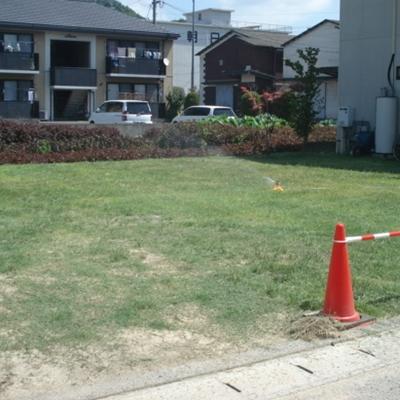 8月7日 お庭がきれいになりました。