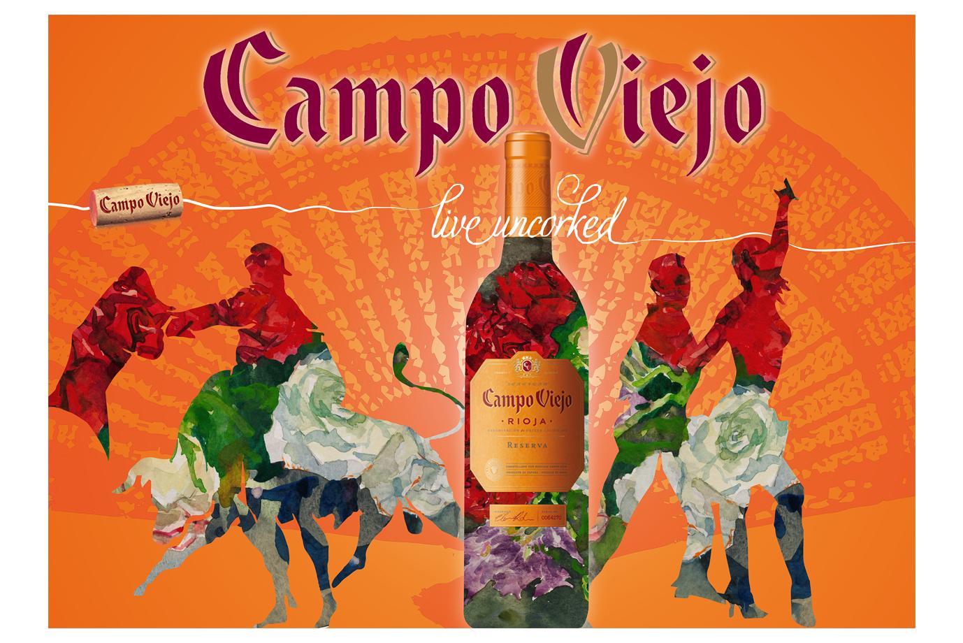 Illustration Campo Viejo