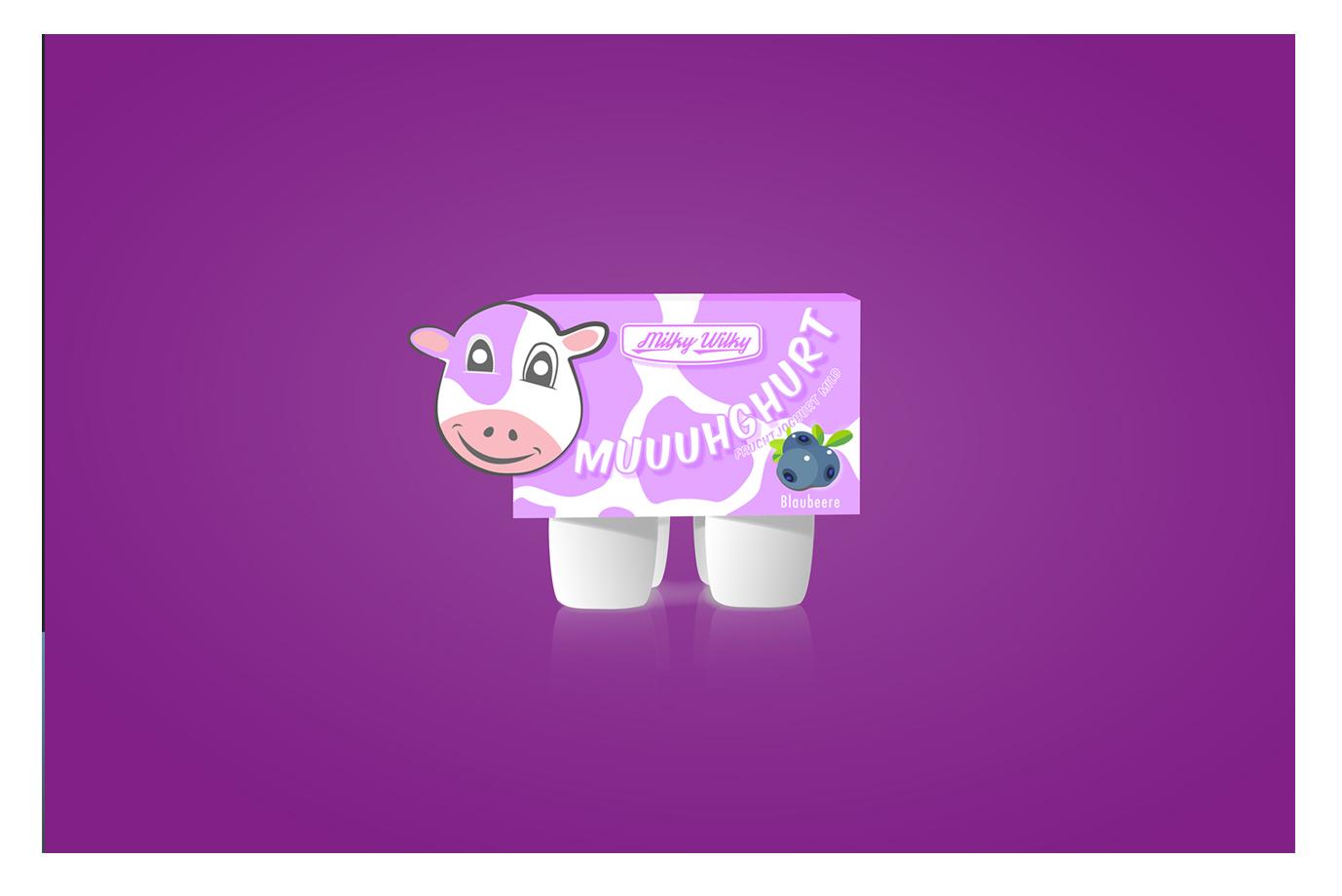 Illustration Joghurtpackung