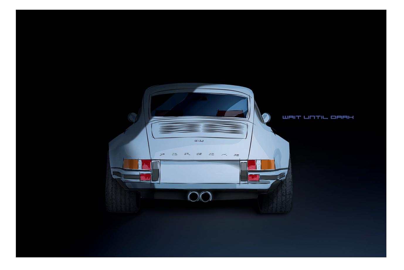 Illustration Porsche