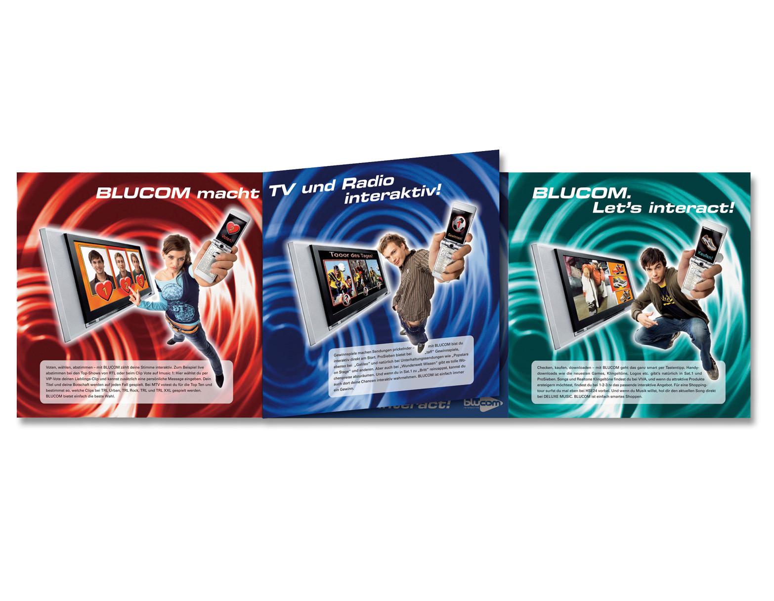 Kampagne Blucom