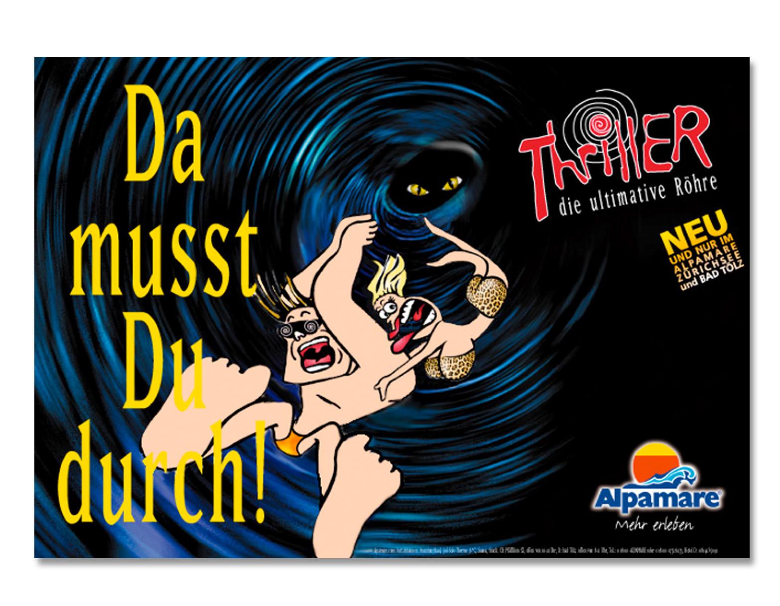 Thriller, Plakat