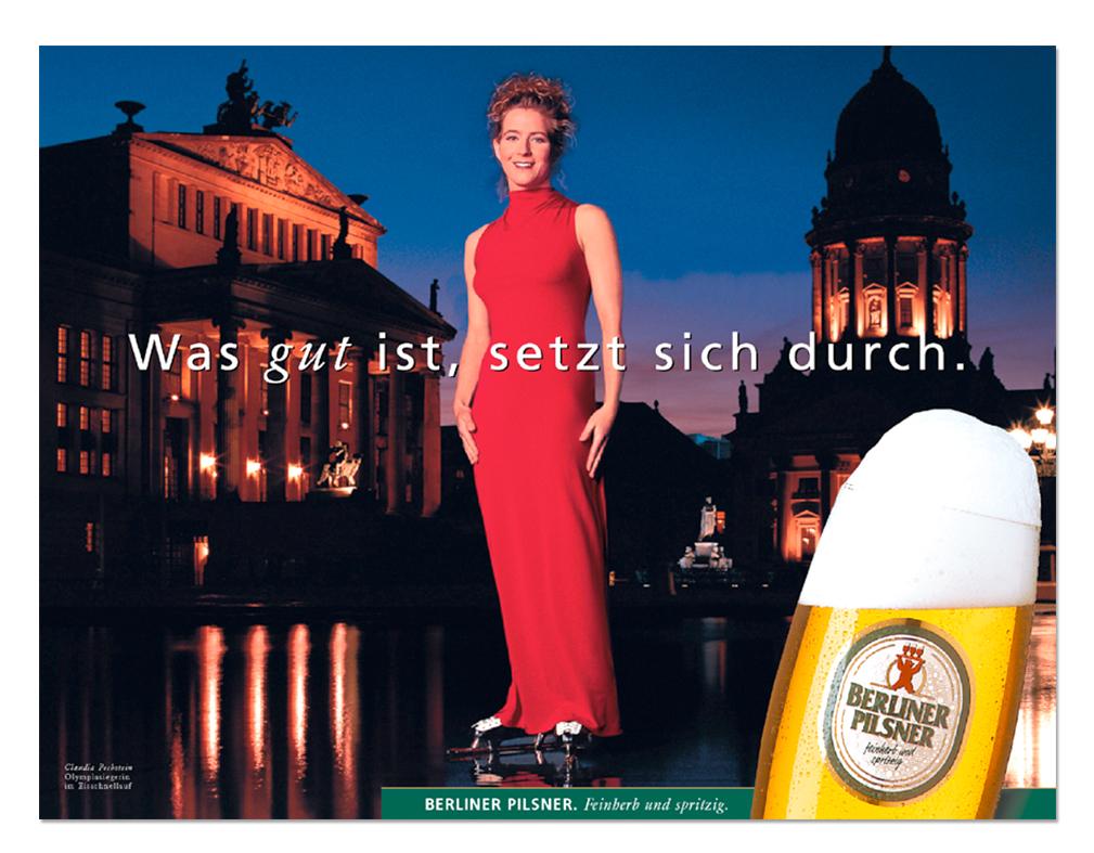 Kampagnenmotiv Claudia Pechstein