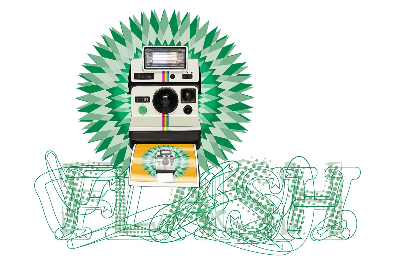Illustration Polaroid
