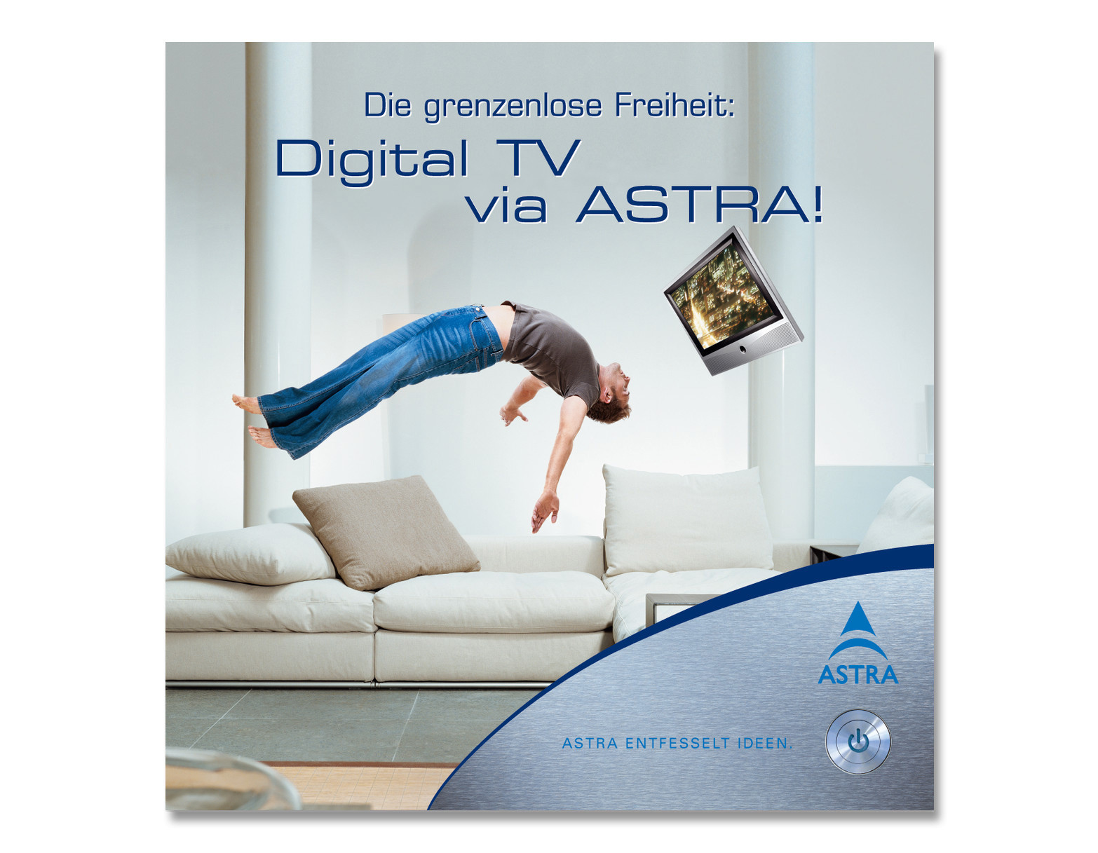 Keyvisual TV. Die grenzenlose Freiheit