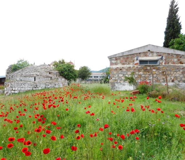 Die alte Therme von Loutros Traianoupolis