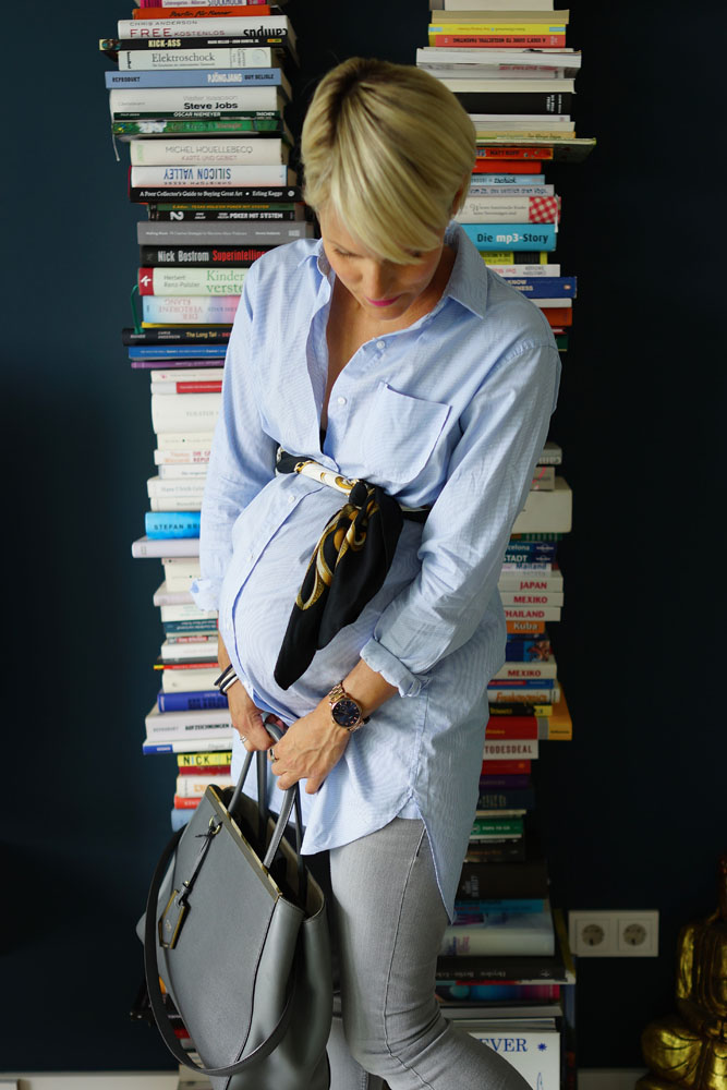 OOTW / OOTD 33. Schwangerschaftswoche. Pregnancy style, maternity wear, Umstandsmode