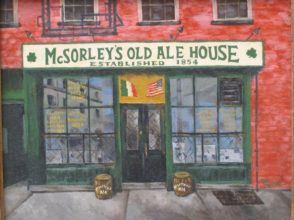 """McSorley's"""