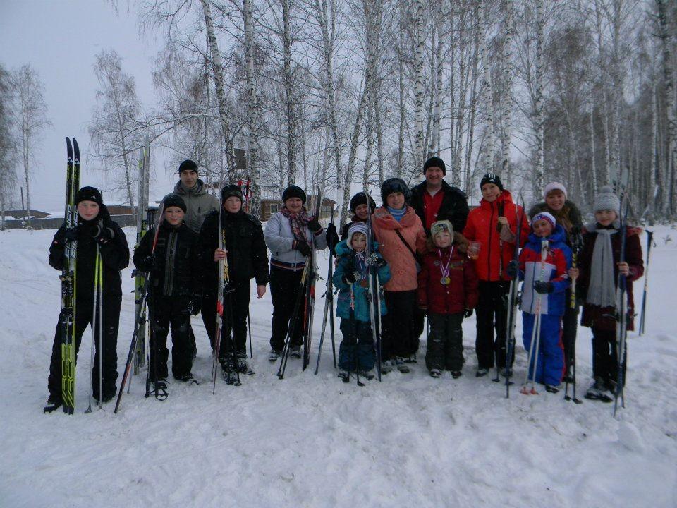 Выходные на лыжне