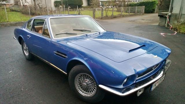 Aston Martin Vantage, Bj 1973, 1 von 72 gebauten, AM Showcar bei der Earls Court Motor Show 1972, € 122.000,00