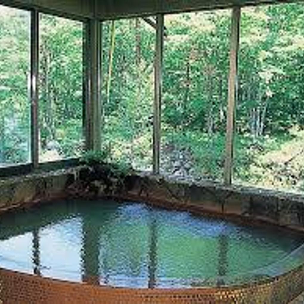 秋神温泉は鉄分たっぷり天然温泉