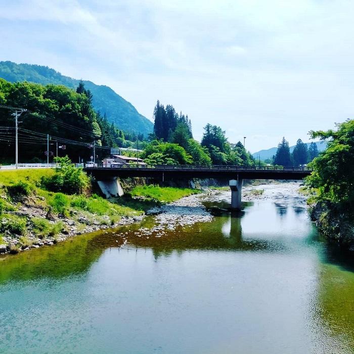飛騨あさひの釣り場「美女橋」