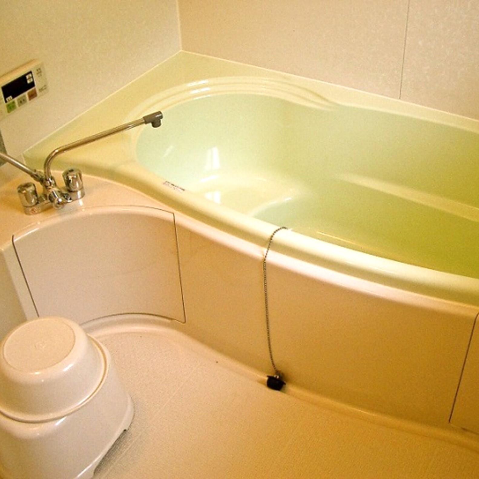 各コテージに浴室を完備