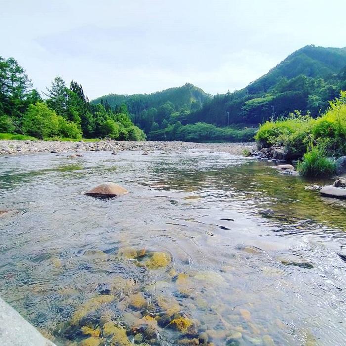 飛騨あさひ釣り場「一之宿神明神社付近」