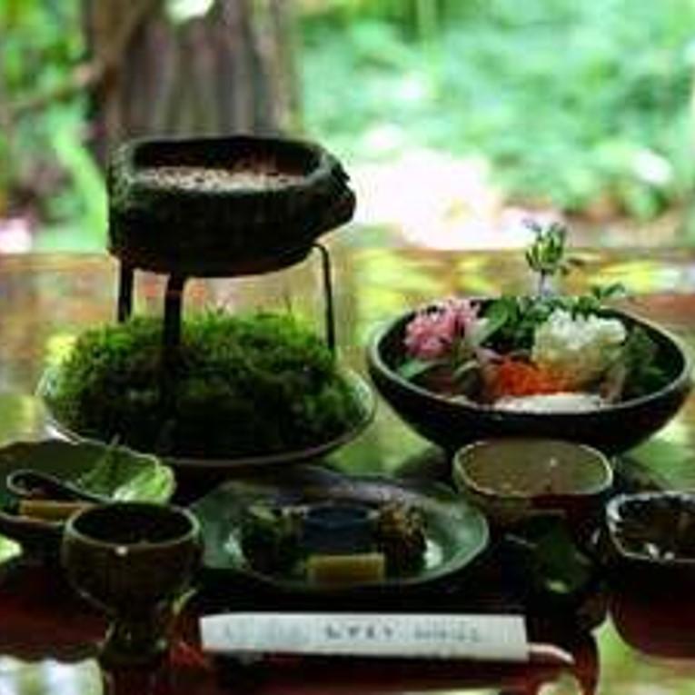 秋神温泉のディナーコース