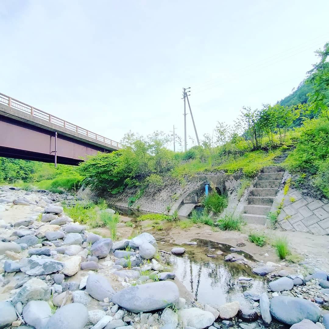 飛騨あさひの釣り場「こおろぎ橋」