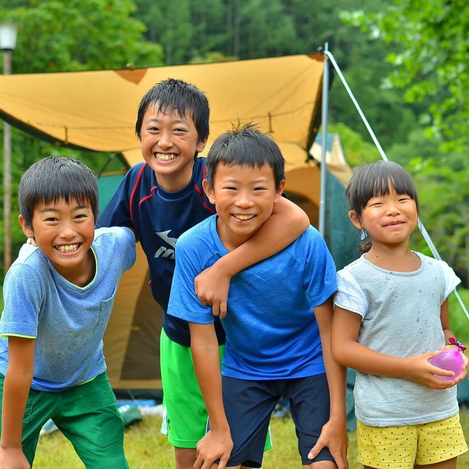 とにかく子供が笑顔になるキャンプ場