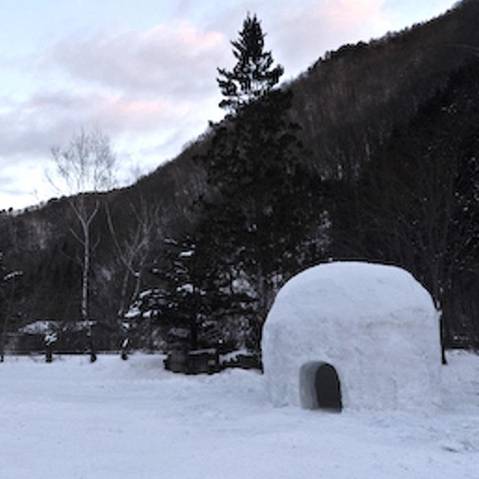 年中営業 冬キャンプも人気