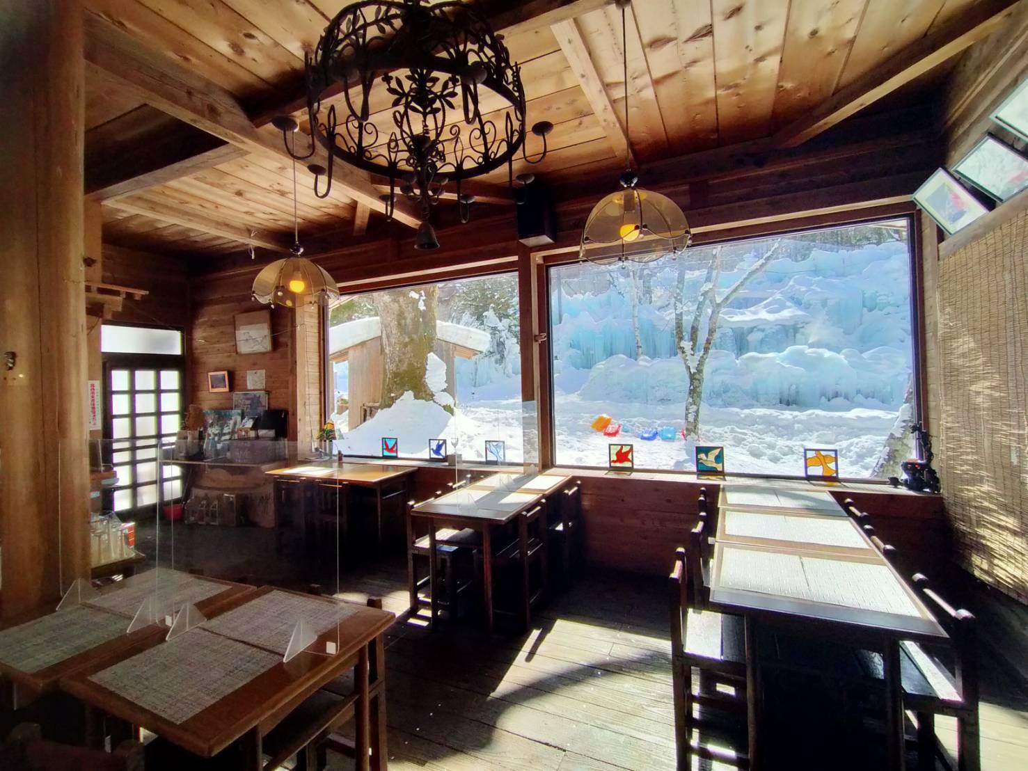 飛騨高山氷点下の森クリスタルハウス