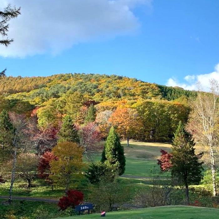 10月中旬より紅葉が楽しめます