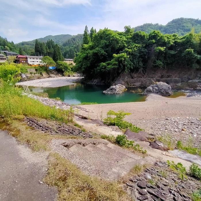 飛騨あさひの釣り場「朝日保育園付近」