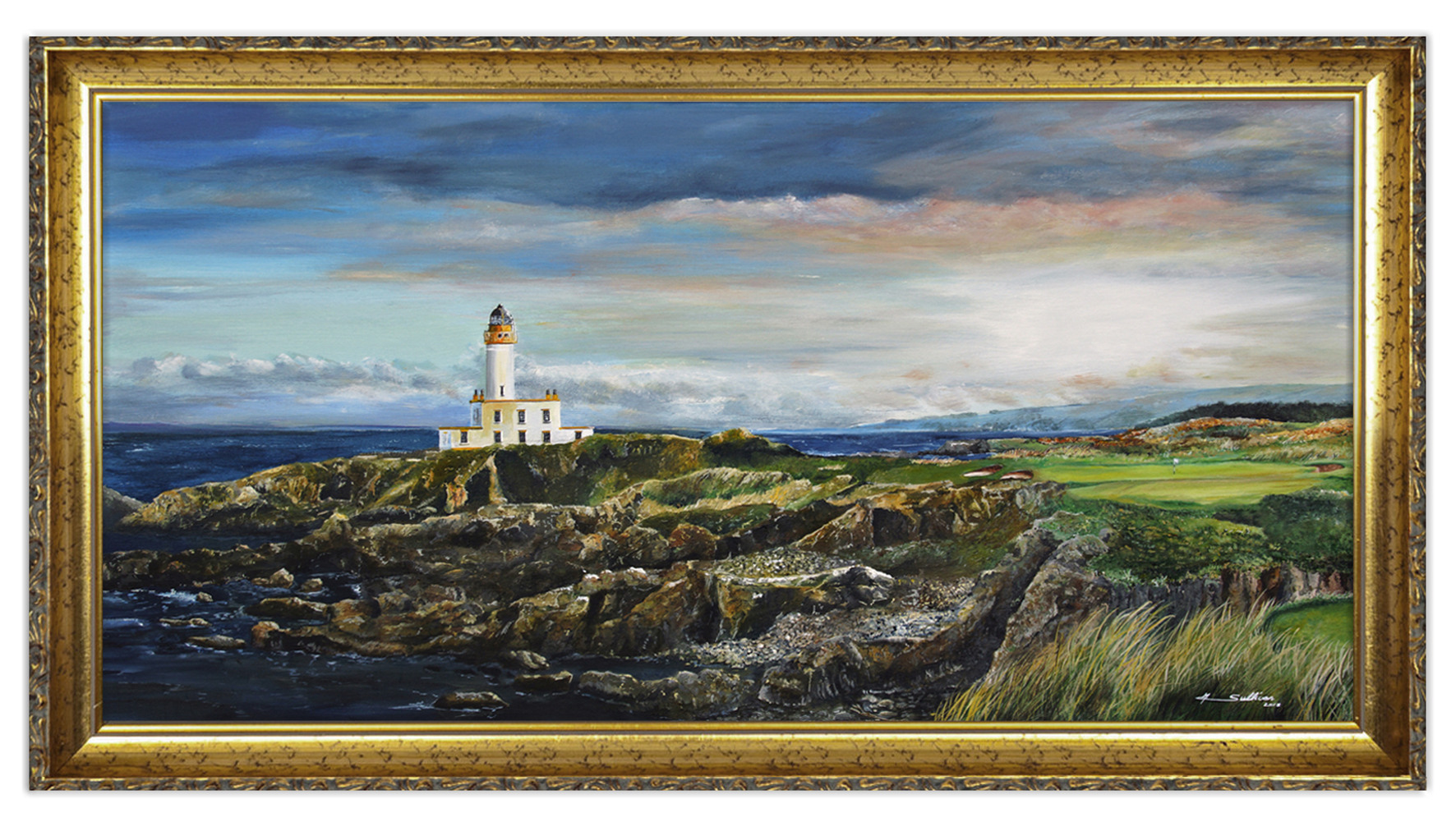 Sullivan_GC-Turnberry-Scotland_Golf_Art