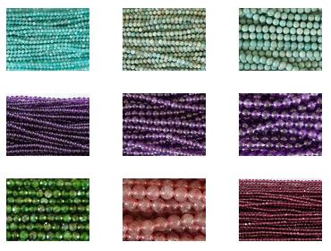 Neue Mineralien-Perlen