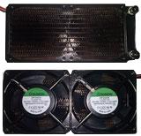 Radiador para sistema de refrigeración de maquinas de fotodepilación IPL. www.lamparasdeipl.com