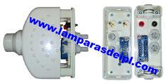 Conector de manipulo IPL SHR. www.lamparasdeipl.com