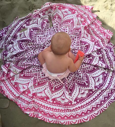 Roze Roundie baby speelkleed