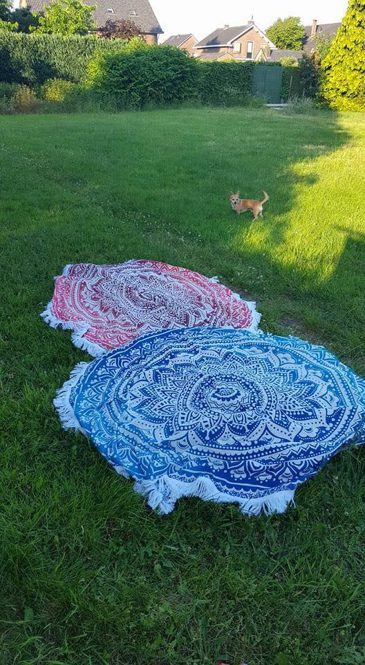 Ombre Blauw & Roze