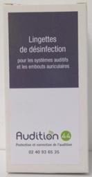 La lingette de nettoyage pour appareil auditif