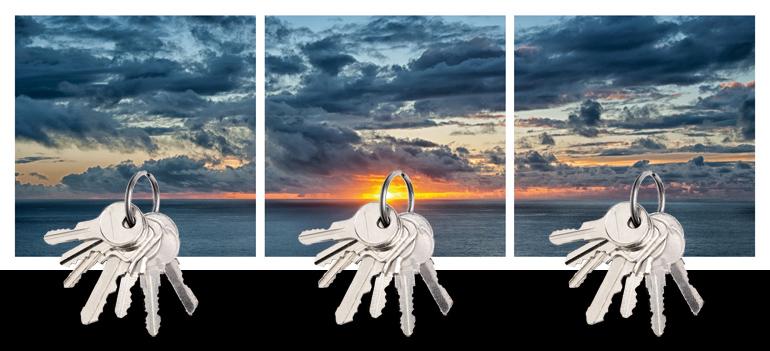 Design Geschenkidee Sonnenuntergang
