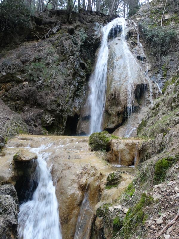 Cascada del arroyo del collado Verde