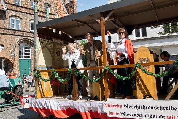 Teilnahme am Volksfestumzug 2012