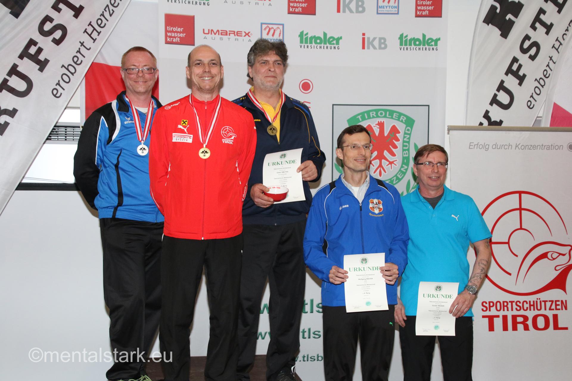 Rudi Sailer - 1.Platz LP1 Senioren1