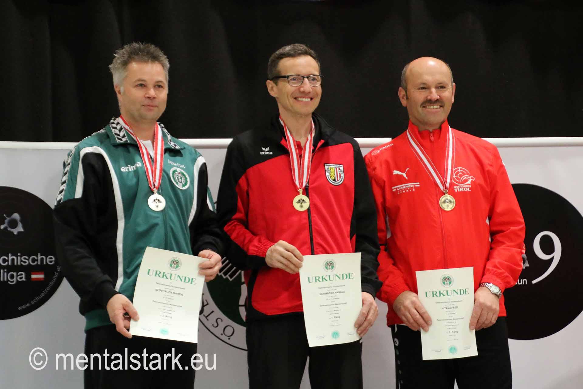 Alfred Nietz 3. Platz LG Senioren 1