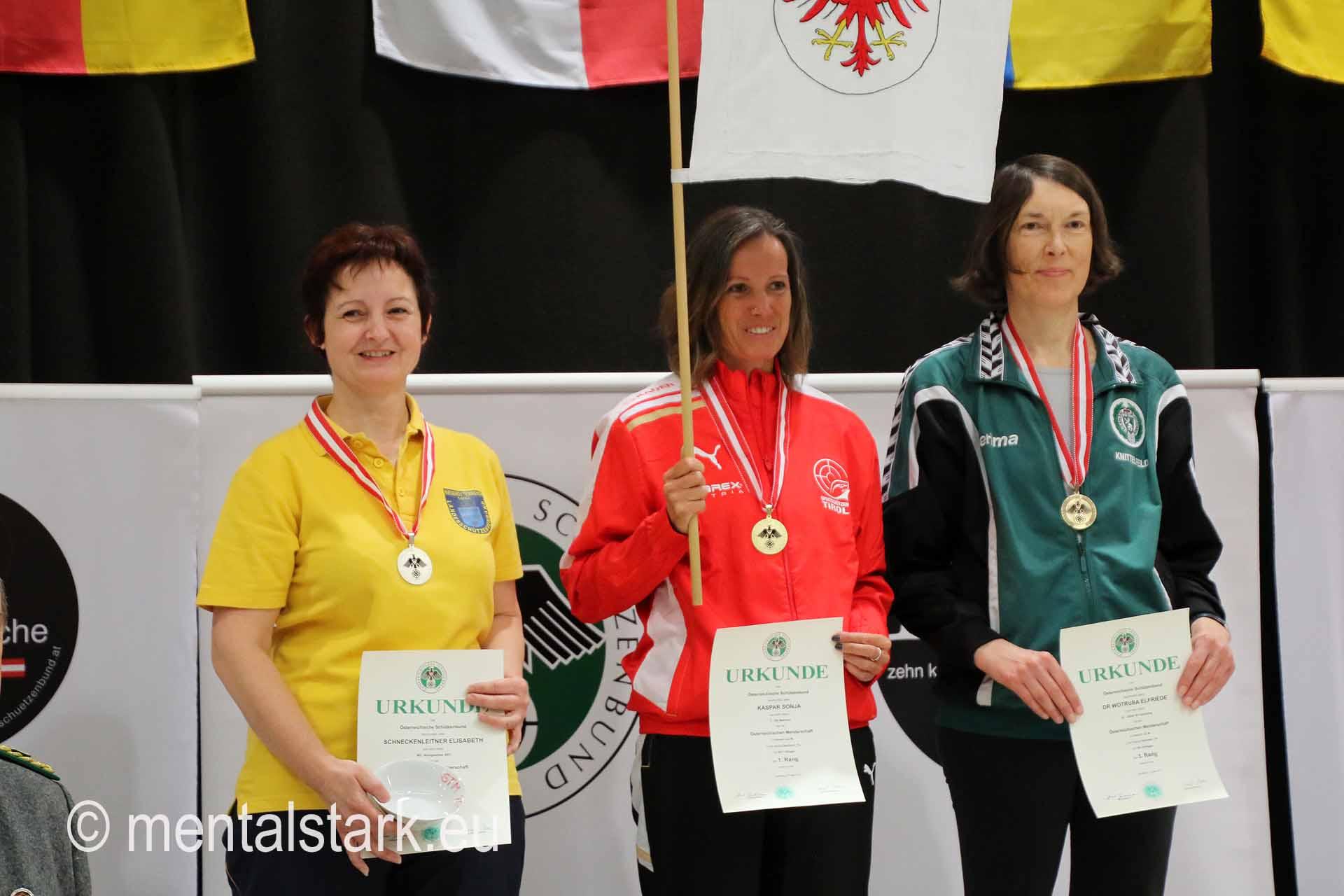 Elisabeth Schneckenleitner 2. Platz LG Seniorinnen 1