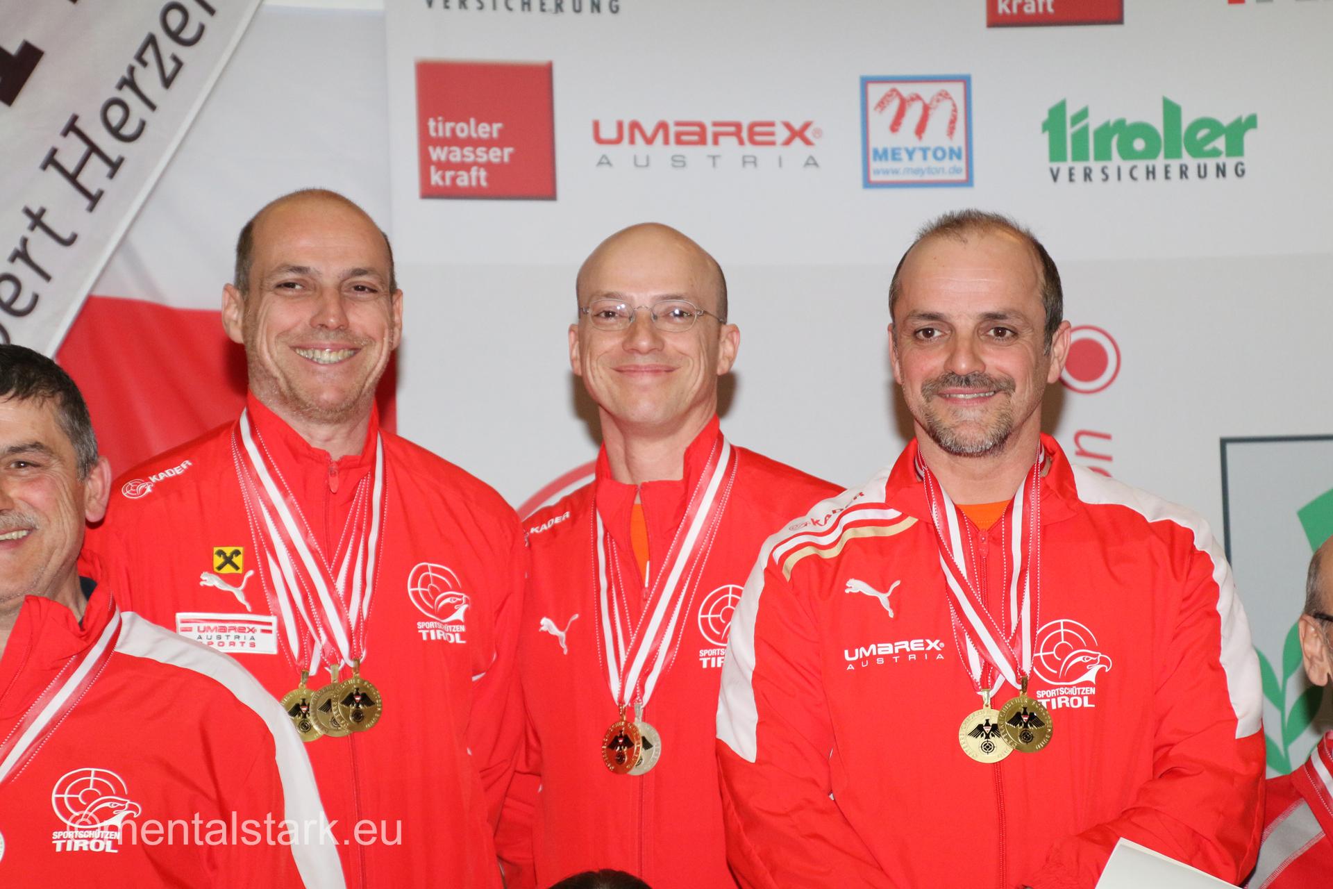 1.Platz für die Sailerbrüder - Mannschaft LP5 Senioren
