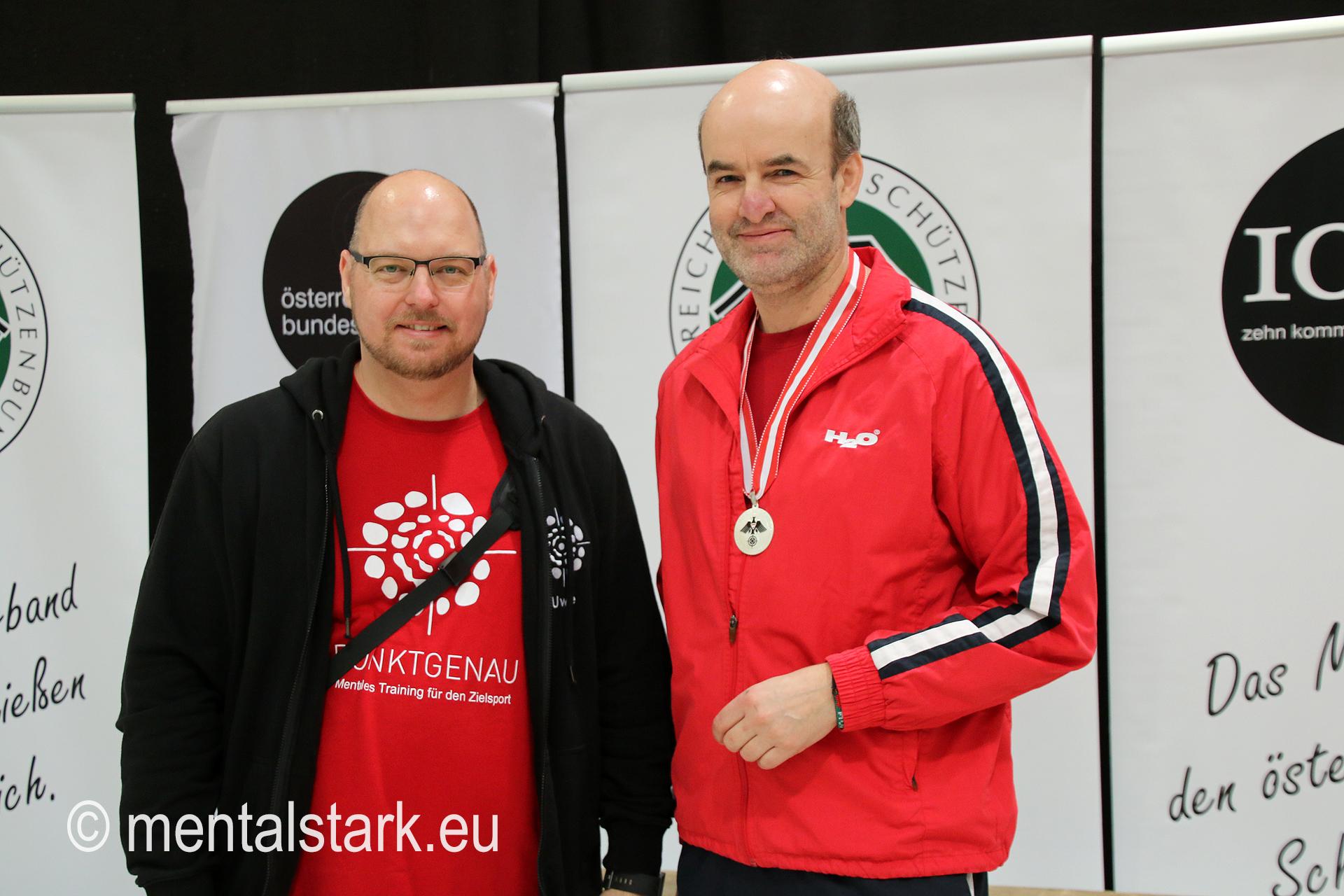 Uwe Gessl mit Andreas Paschinger