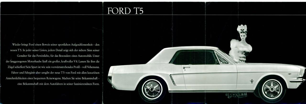 Auch hierzulande war der erste Mustang offiziell ...  (Bild: FordT5.com)
