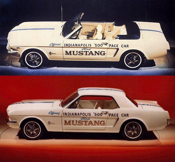 1965 wurden insgesamt 559.451 Mustangs verkauft, ...  (Bild: Ford)