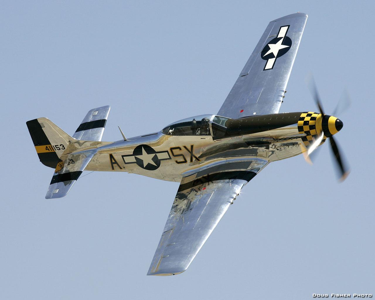 ... stammt vom Kampfflugzeug P51 Mustang (Bild: Doug Fisher)