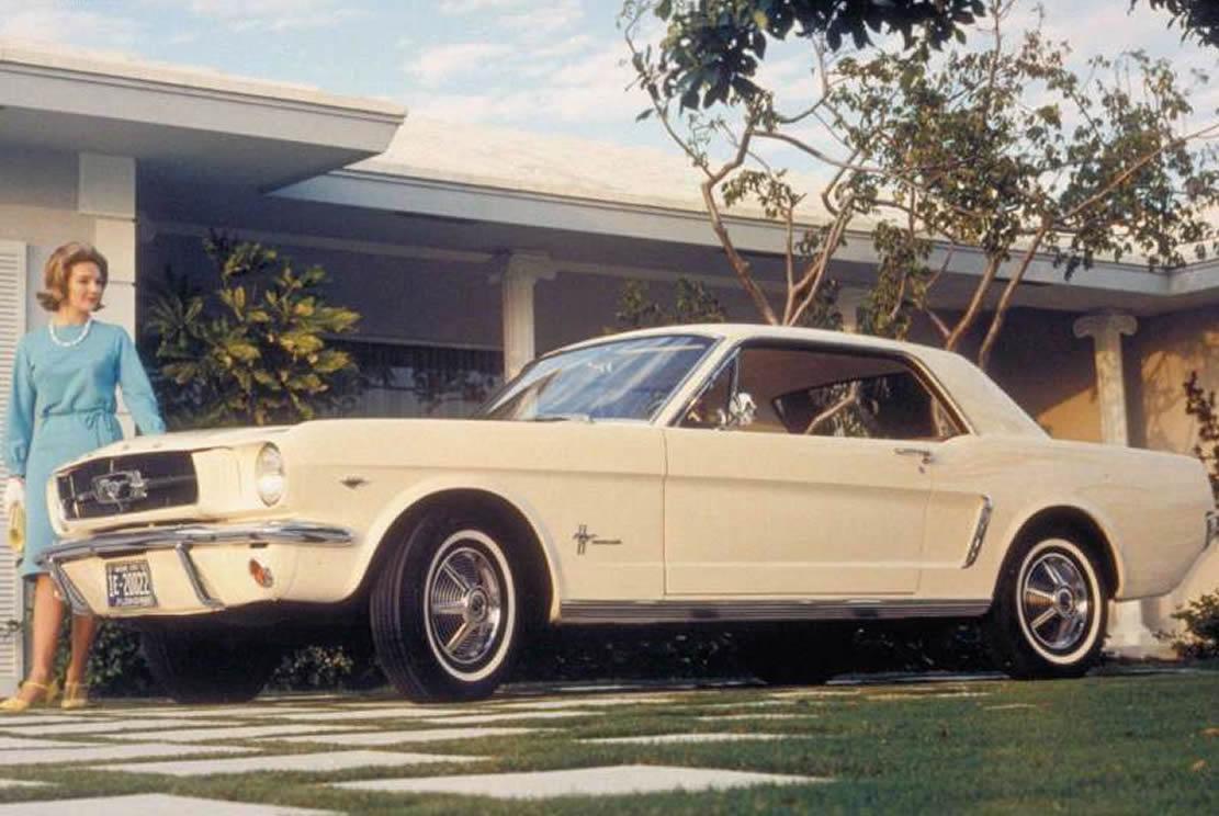 So sah eine typische Werbung für die ersten Mustangs aus! (Bild: Ford)