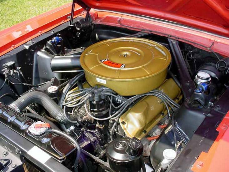 Die stärkeren V8 Motoren kosteten Aufpreis! (Bild: Ford)